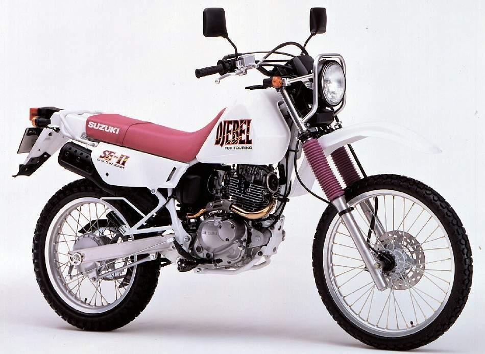 Suzuki DR 200 Djebel technical specifications